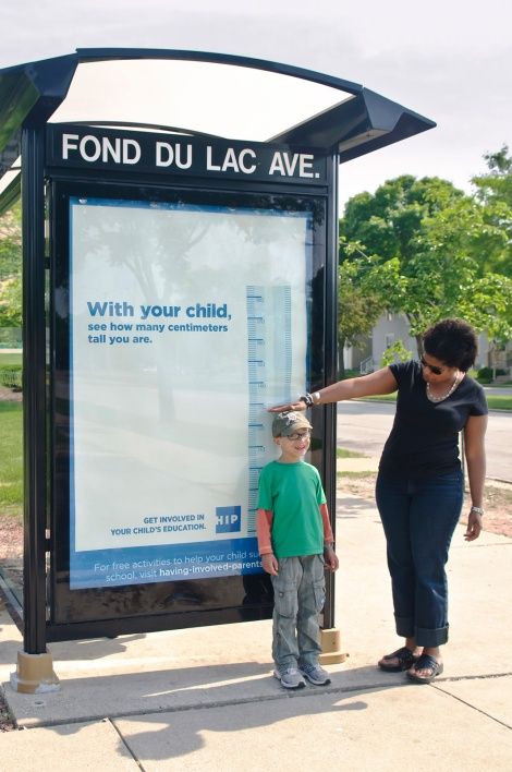 COA's HIP Program (Having Involved Parents) - Bus stop measure