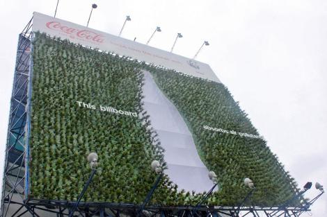 Coca-Cola & WWF - Plant Billboard