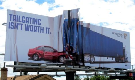 Colorado State Patrol - Billboard Collision