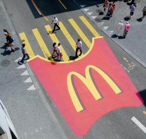 McD streetmarketing