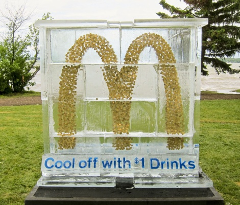 McDonald's - Ice Sculpture Stunt