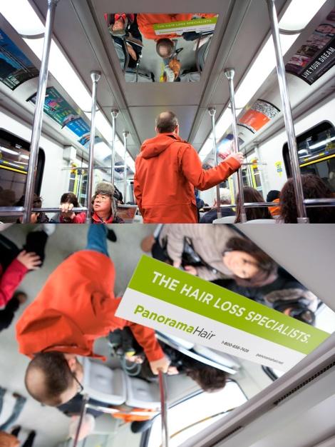 Panorama Hair - Transit Ad