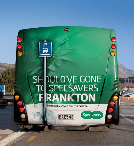 Specsavers - Bus Back Crash
