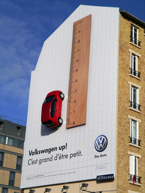 "Volkswagen - Up!  ""It's great to be small"""