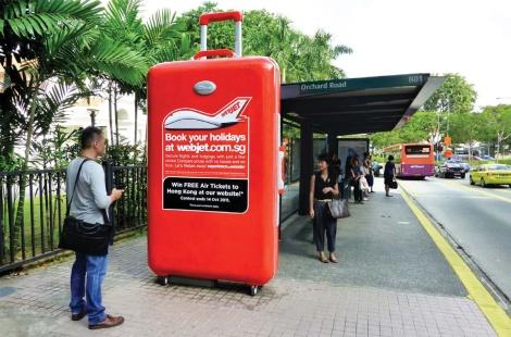 Webjet The World - Supersized 3D Luggage