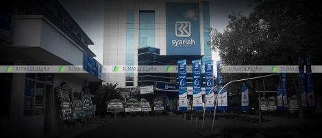 umbul-umbul BRI Syariah Jl Abdul Muis Jakarta 5 + watermark