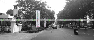 umbul-umbul Clean Up Jakarta Gerbang Pemuda 3